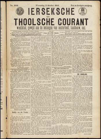 Ierseksche en Thoolsche Courant 1914-10-03