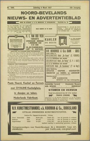 Noord-Bevelands Nieuws- en advertentieblad 1937-03-06