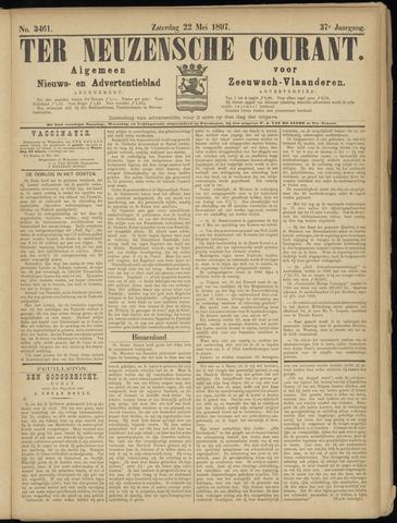 Ter Neuzensche Courant. Algemeen Nieuws- en Advertentieblad voor Zeeuwsch-Vlaanderen / Neuzensche Courant ... (idem) / (Algemeen) nieuws en advertentieblad voor Zeeuwsch-Vlaanderen 1897-05-22