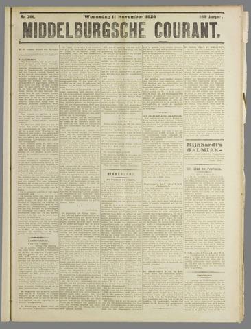 Middelburgsche Courant 1925-11-11
