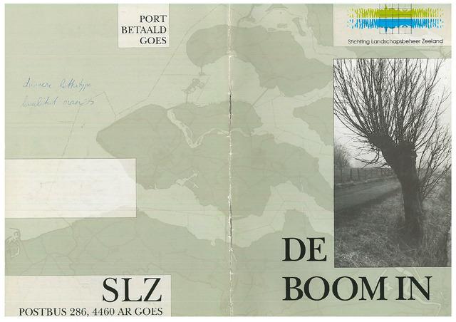 Landschapsbeheer Zeeland - de Boom in 1999-05-01