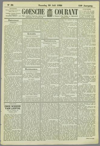 Goessche Courant 1929-07-29