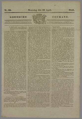 Goessche Courant 1842-04-25