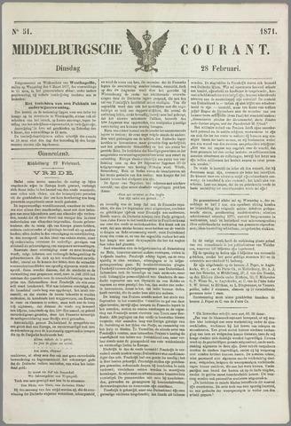 Middelburgsche Courant 1871-02-28