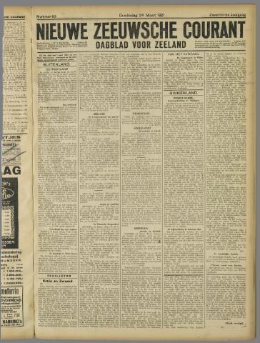 Nieuwe Zeeuwsche Courant 1921-03-24