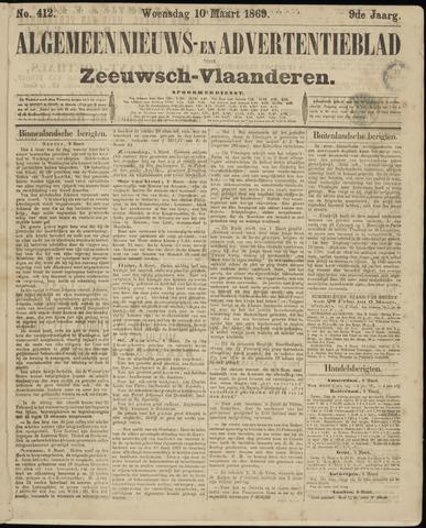 Ter Neuzensche Courant. Algemeen Nieuws- en Advertentieblad voor Zeeuwsch-Vlaanderen / Neuzensche Courant ... (idem) / (Algemeen) nieuws en advertentieblad voor Zeeuwsch-Vlaanderen 1869-03-10