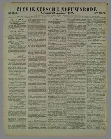 Zierikzeesche Nieuwsbode 1888-12-29
