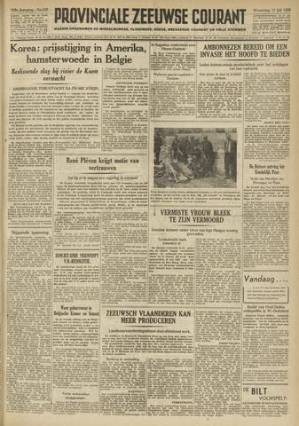 Provinciale Zeeuwse Courant 1950-07-12