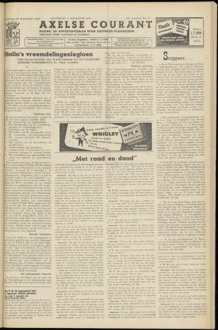 Axelsche Courant 1954-08-07