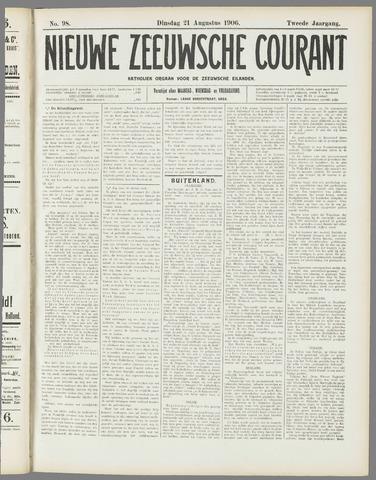 Nieuwe Zeeuwsche Courant 1906-08-21