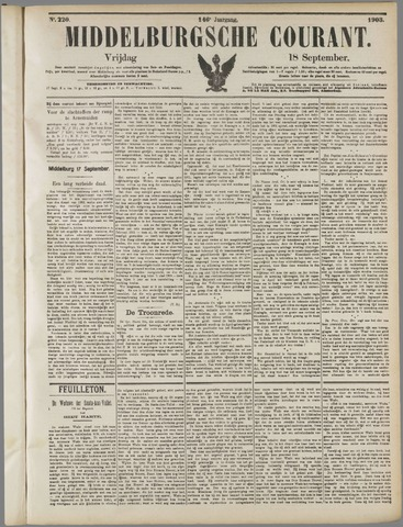 Middelburgsche Courant 1903-09-18