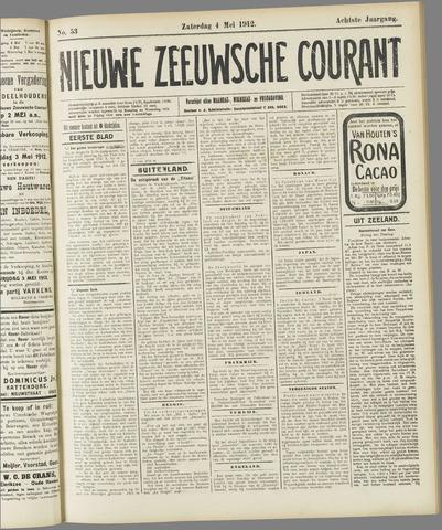 Nieuwe Zeeuwsche Courant 1912-05-04