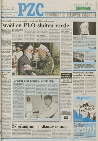Provinciale Zeeuwse Courant 1993-09-10