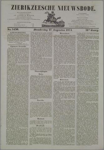 Zierikzeesche Nieuwsbode 1874-08-27