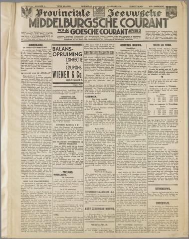 Middelburgsche Courant 1934-01-03