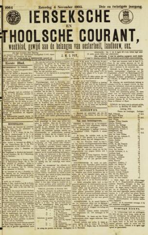 Ierseksche en Thoolsche Courant 1905-11-04