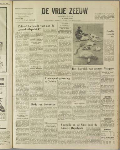 de Vrije Zeeuw 1960-04-13