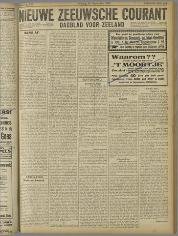 Nieuwe Zeeuwsche Courant 1920-11-19