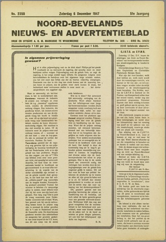 Noord-Bevelands Nieuws- en advertentieblad 1947-12-06