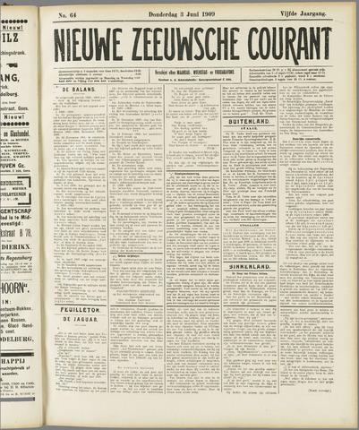 Nieuwe Zeeuwsche Courant 1909-06-03