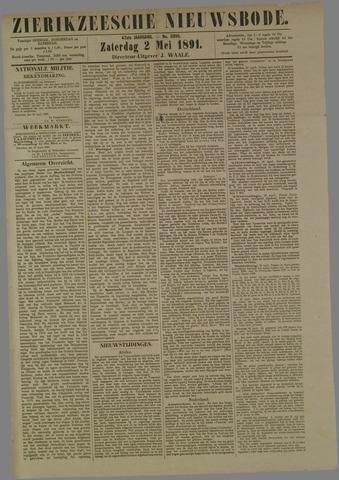 Zierikzeesche Nieuwsbode 1891-05-02