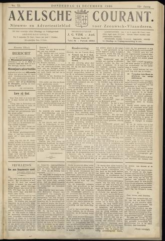 Axelsche Courant 1936-12-24