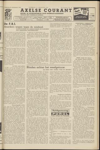 Axelsche Courant 1958-08-23