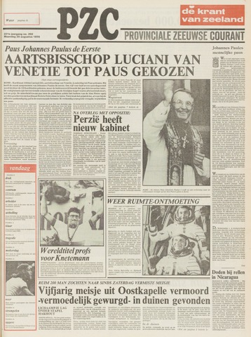 Provinciale Zeeuwse Courant 1978-08-28