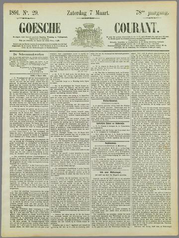 Goessche Courant 1891-03-07