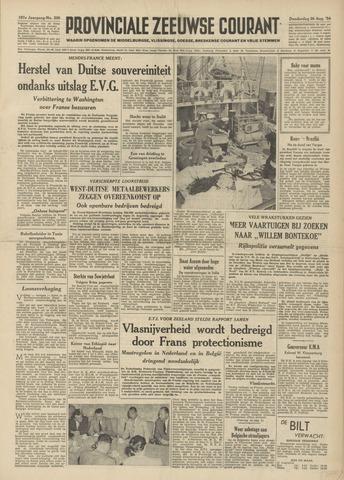 Provinciale Zeeuwse Courant 1954-08-26