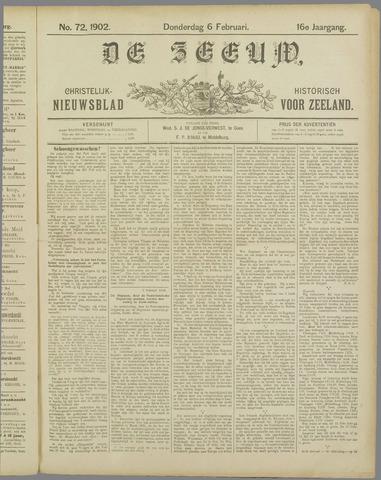 De Zeeuw. Christelijk-historisch nieuwsblad voor Zeeland 1902-02-06