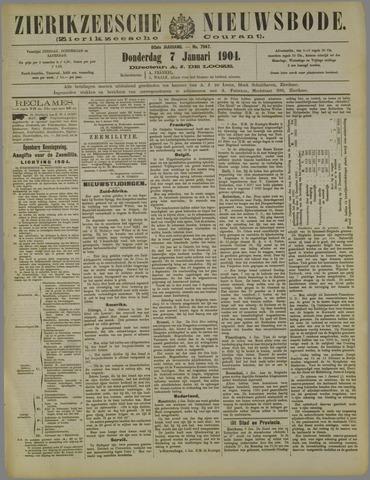 Zierikzeesche Nieuwsbode 1904-01-07