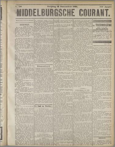 Middelburgsche Courant 1921-12-16