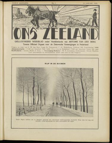 Ons Zeeland / Zeeuwsche editie 1929-01-19