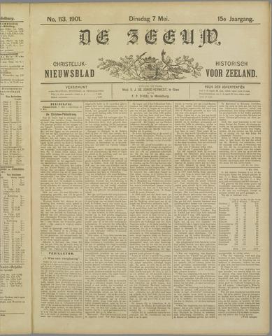 De Zeeuw. Christelijk-historisch nieuwsblad voor Zeeland 1901-05-07