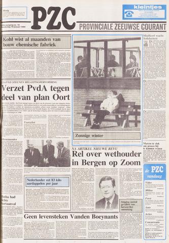 Provinciale Zeeuwse Courant 1989-01-19