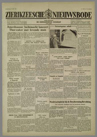 Zierikzeesche Nieuwsbode 1958-07-10