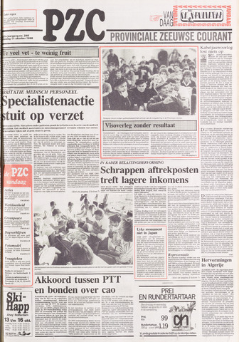 Provinciale Zeeuwse Courant 1988-10-11