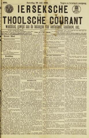 Ierseksche en Thoolsche Courant 1913-07-26