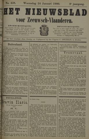 Nieuwsblad voor Zeeuwsch-Vlaanderen 1900-01-24