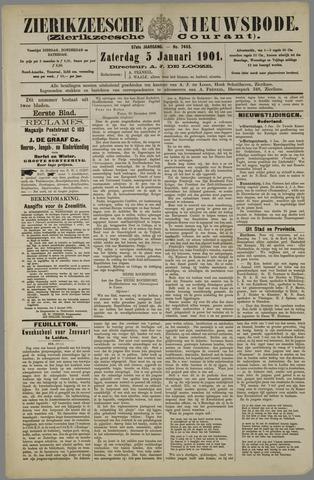 Zierikzeesche Nieuwsbode 1901-01-05