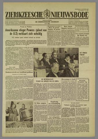 Zierikzeesche Nieuwsbode 1960-08-18