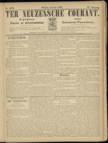 Ter Neuzensche Courant. Algemeen Nieuws- en Advertentieblad voor Zeeuwsch-Vlaanderen / Neuzensche Courant ... (idem) / (Algemeen) nieuws en advertentieblad voor Zeeuwsch-Vlaanderen 1897-06-15