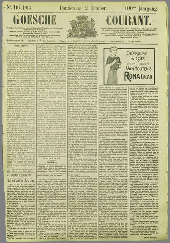 Goessche Courant 1913-10-02