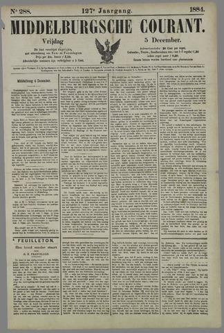 Middelburgsche Courant 1884-12-05