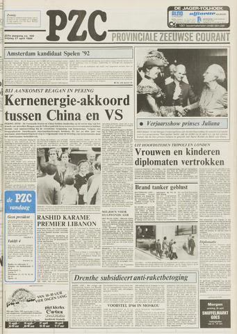 Provinciale Zeeuwse Courant 1984-04-27