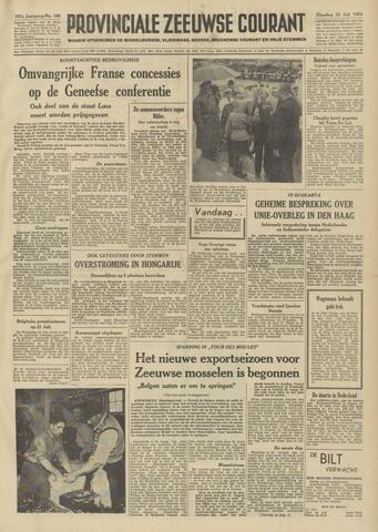 Provinciale Zeeuwse Courant 1954-07-20