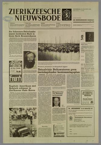Zierikzeesche Nieuwsbode 1985-08-22