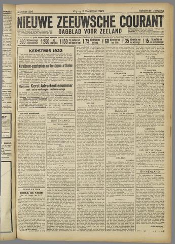 Nieuwe Zeeuwsche Courant 1922-12-08