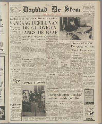 de Stem 1963-06-05